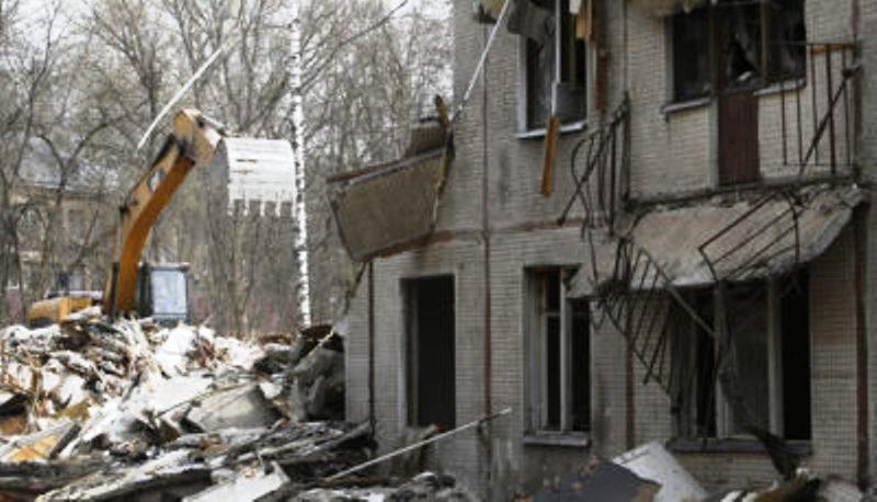 В Севастополе для реновации снесут 22 жилых дома